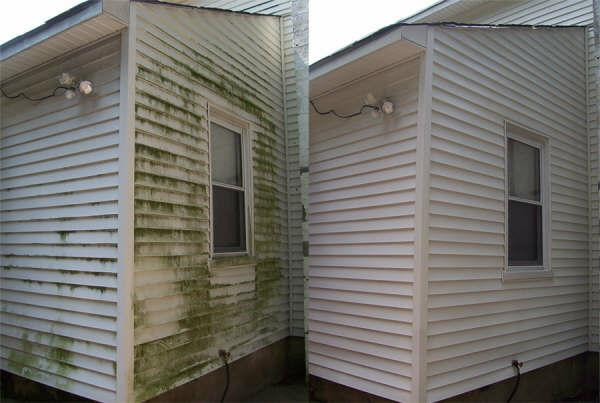 Power washing - How to clean house exterior before painting ...