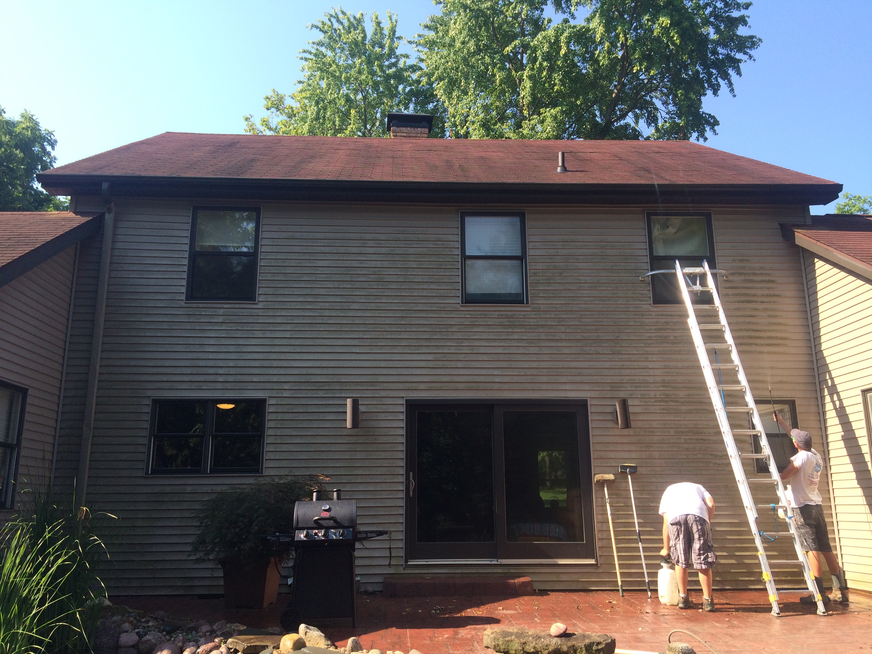 Exterior House Washing in Makanda, IL -