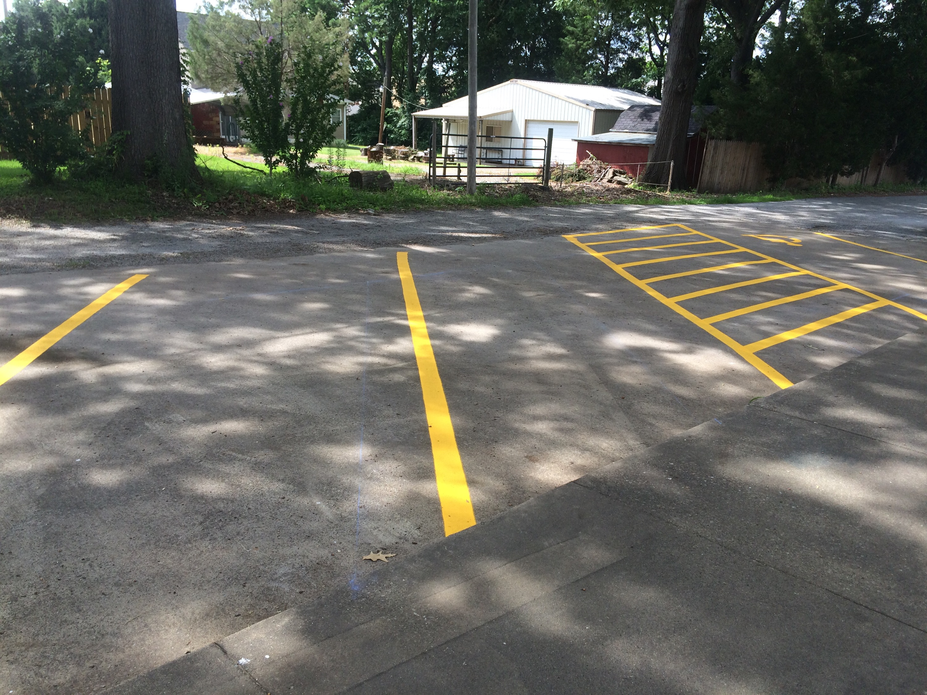 parking lot paint striping in carbondale il