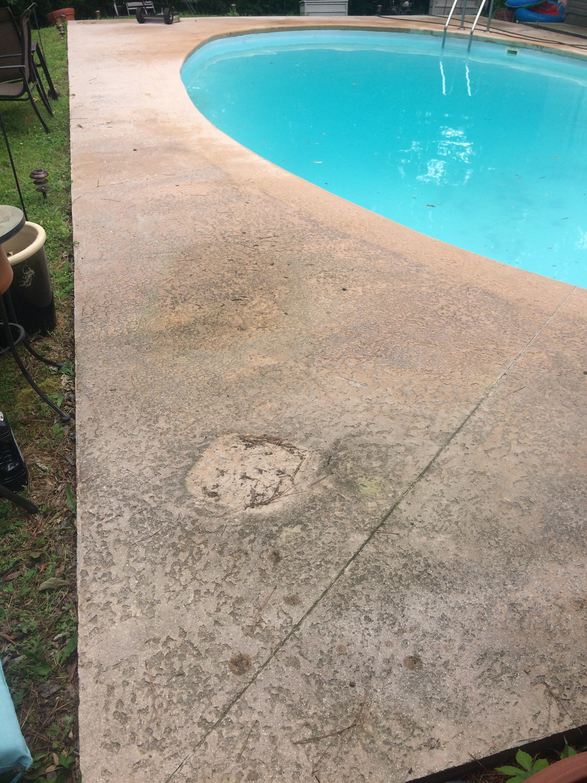 Pressure washing pool decks in herrin il for Pressure clean pools
