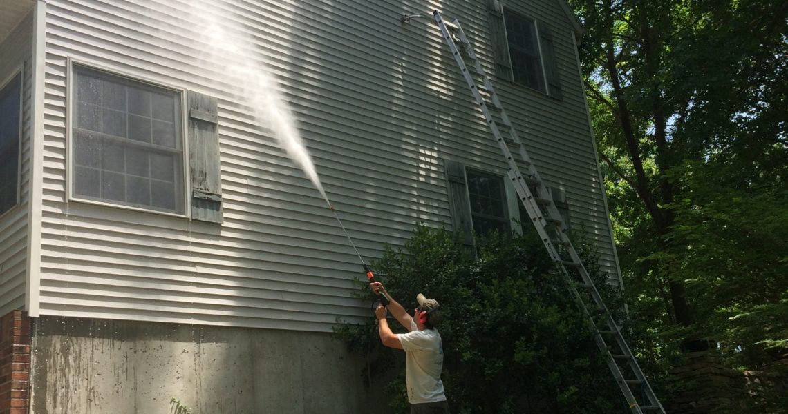 House Exterior Washing in Carbondale, IL
