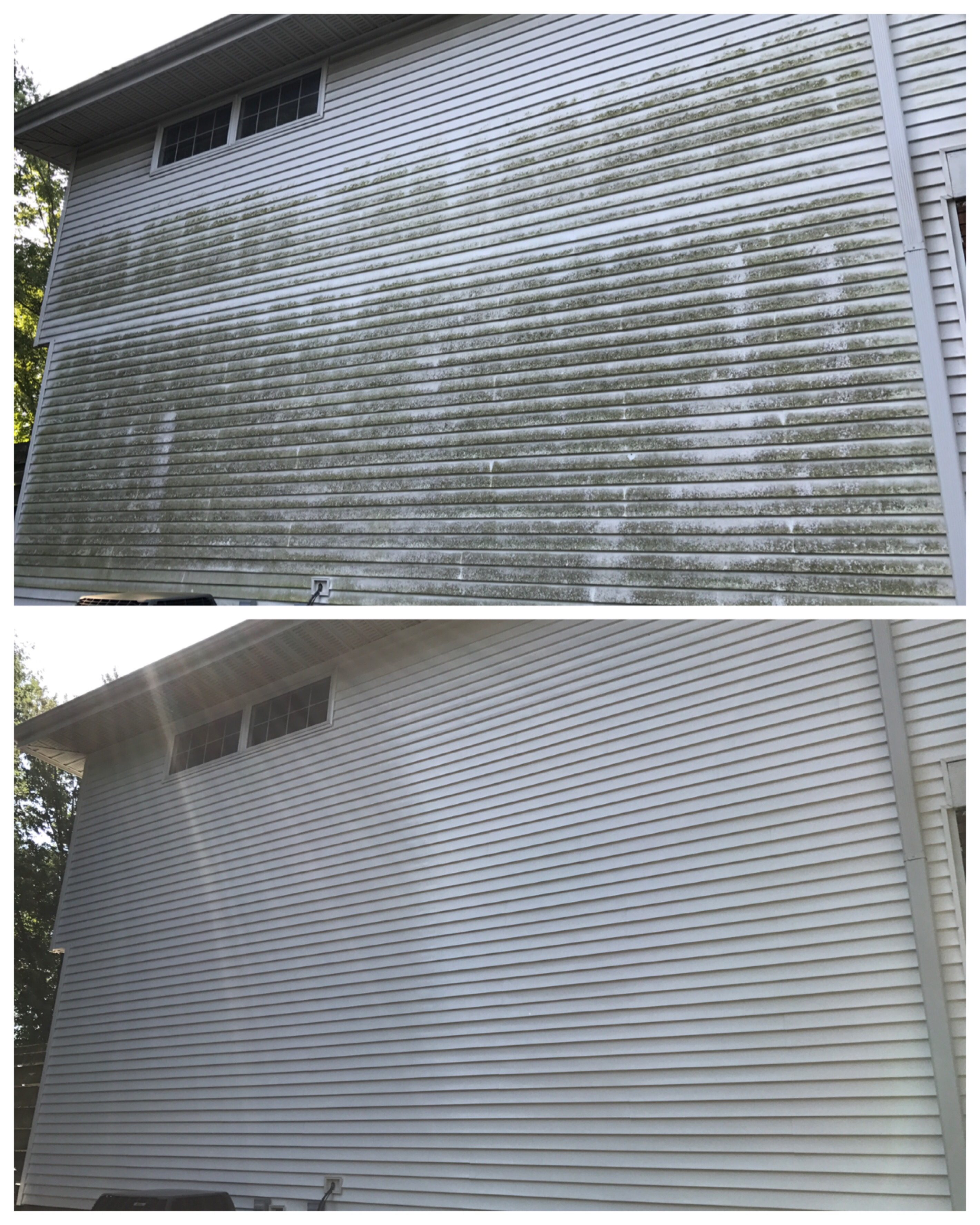 Softwashing homes all over southern illinois for Southern illinois home builders
