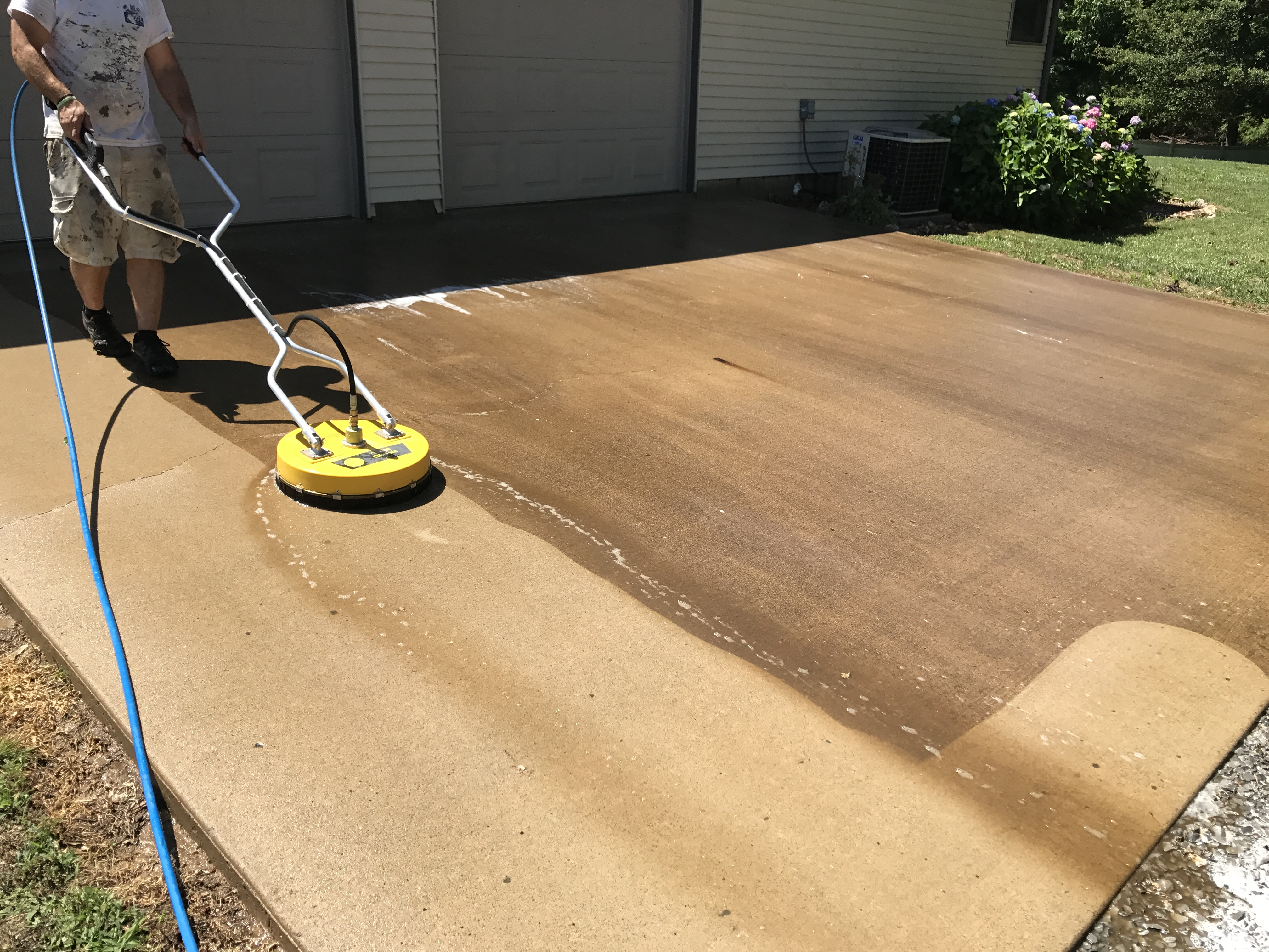 Judge services exterior cleaning specialists southern for Outdoor concrete cleaner