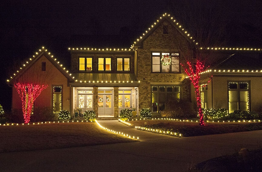 Christmas Light Installation Carbondale Illinois